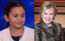 """Bé gái 8 tuổi bất ngờ nhận được thư an ủi từ bà Hillary Clinton khi mất chức lớp trưởng: """"Cô hiểu rất rõ thật không dễ dàng tí nào"""""""