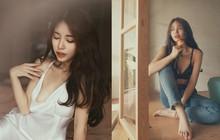 Thả rông diện váy lụa và mặc độc bra với quần jeans, Mẫn Tiên đã chạm tới cảnh giới sexy thật rồi