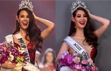 """Cựu thí sinh The Face Thái """"cosplay"""" tân Hoa hậu Hoàn vũ Catriona Gray: Như """"sao y"""" bản gốc"""