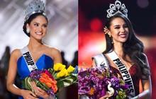 Top điều trùng hợp thú vị về Hoa hậu Hoàn vũ 2018 so với các năm trước: Từ áo tắm hồng cho đến bức ảnh tiên đoán