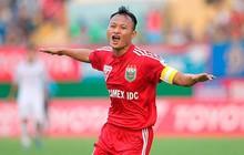 """Bố cầu thủ Nguyễn Trọng Hoàng: """"Nếu không đá bóng thì sẽ làm chiến sĩ công an"""""""