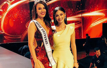 Chỉ một bức ảnh đứng cạnh Tân Hoa hậu Hoàn vũ 2018 mà nàng Pia lộ ngay nhược điểm không cứu vãn nổi