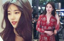 """Đẹp như búp bê sống trong hình fan chụp vội, Suzy bỗng bị netizen """"khủng bố"""" với loạt ảnh quá khứ khác một trời một vực"""