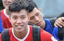 Văn Thanh hứa chăm sóc Đình Trọng khi sang Hàn Quốc chữa trị chấn thương