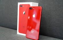iPhone 8 Plus (PRODUCT)RED đã về làng: Viền mặt trước đen bóng, lưng kính đẹp mê ly, giá từ 20,5 triệu đồng