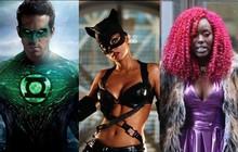 Top 10 tạo hình siêu anh hùng bị mang tiếng xấu nhất mọi thời đại