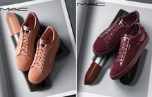 BST sneaker Puma x MAC: đã toàn màu đẹp lại còn tương ứng với màu son đình đám của MAC, hội con gái không thể không mê