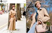 Mặc đẹp không thua kém giới trẻ Hàn, Chi Pu lọt ống kính nhiếp ảnh gia street style tại Seoul khi tới đây du lịch