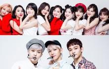 """Vừa thắng TWICE trên iTunes, EXO-CBX đã bị 9 cô gái cho """"ngửi khói"""" ở sân nhà"""