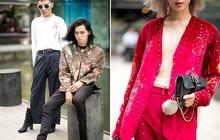 Street style VIFW ngày 2: đồ lưới, shorts, giày cao gót được... phái nam tận dụng triệt để