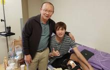 HLV Park Hang Seo tới thăm Tuấn Anh sau ca phẫu thuật ở Hàn Quốc