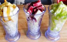 Sữa chua dẻo xắt miếng: món ăn mát lạnh đập tan cái nóng mùa hè ở Sài Gòn