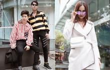 Street style VIFW ngày 3: Các tín đồ thời trang rất chăm diện áo khoác dù trời nắng nóng
