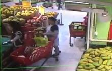 """Bà bầu ngang nhiên """"nẫng"""" ví của khách tại siêu thị BigC khiến dân mạng bức xúc"""