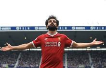 Liverpool đánh rơi chiến thắng trong ngày Salah cân bằng kỷ lục của Ronaldo