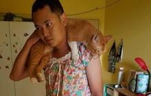 Chàng trai hóa trang thành phụ nữ vì mèo cưng không thích lại gần đàn ông