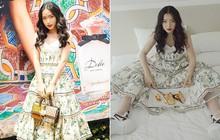 """Châu Bùi """"đụng"""" váy cũ của Tóc Tiên, Angela Phương Trinh lẫn Tú Hảo, nhưng cô nàng lại diện theo 2 cách thú vị"""