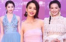 Quan Hiểu Đồng lộ vai thô, Thư Kỳ rườm rà với 2 chiếc váy, nhưng đây mới là mỹ nhân đẹp nhất thảm đỏ LHP Bắc Kinh