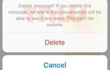 Lộ bằng chứng mới nhất về tính năng xóa tin nhắn Messenger của Facebook