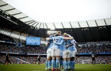 Man City lập thành tích chưa từng xuất hiện trong lịch sử Ngoại hạng Anh
