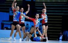 Aerobic Việt Nam giành 3 HCV thế giới