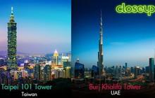 """Hôn sâu, rinh cơ hội """"khóa môi"""" cùng người ấy tại Dubai, Đài Loan và Malaysia"""