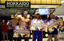Dàn trai đẹp 6 múi gây náo loạn cửa hàng Hokkaido Baked Cheese Tart