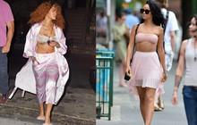 Đẳng cấp hở bạo kiểu Rihanna: Thường xuyên mặc nội y thay cho áo bình thường
