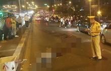 Tìm nhân chứng vụ tai nạn giao thông chết người tại cầu vượt Ngã Tư Sở