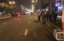 Vừa ăn cơm xong để quay về công trình làm việc, người đàn ông bị xe máy tông chết khi băng qua đường