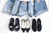 4 kiểu giày dép bệt luôn sẵn lòng kết thân với quần shorts để ra đúng chất mùa hè