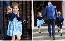 Không phải là em trai mới sinh, tiểu công chúa Charlotte mới chính là người làm nên lịch sử hoàng gia Anh