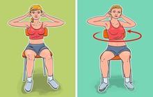 7 bài tập tại nhà với ghế giúp bạn có một vòng eo lý tưởng hè này
