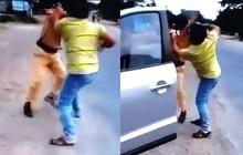 Đang làm nhiệm vụ, CSGT ở Gia Lai bị người đàn ông lao vào đánh