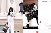 Thấy Kỳ Duyên post ảnh đẹp, tài khoản của hội những người yêu Chanel toàn thế giới gửi hẳn tin nhắn để khen ngợi