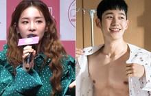 "Dara muốn làm ""chị đẹp"" để... make up cho ""cậu em"" Jung Hae In"