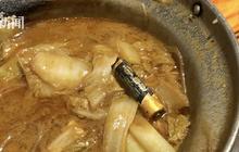 Đang ăn lẩu ngon lành, nam sinh sửng sốt phát hiện nguyên một cục pin trong thức ăn
