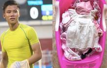 Cầu thủ điển trai Quế Ngọc Hải: Giặt đồ cho con vất vả hơn đá bóng 90 phút!