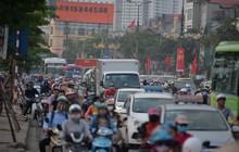 Tai nạn trước giờ cao điểm tại Giải Phóng - Ngọc Hồi, cửa ngõ phía Nam ùn tắc nghiêm trọng