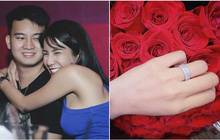 Diệp Lâm Anh khoe nhẫn đính hôn nạm đầy kim cương trước thềm đám cưới