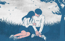 Bộ tranh tình yêu Hàn Quốc khiến ai xem xong cũng muốn có một người để dựa vào