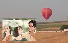 """""""Em Gái Mưa"""" tiết lộ cảnh quay đầu tiên của phim Việt Nam sử dụng khinh khí cầu"""