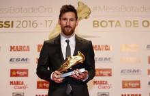Messi vượt Ronaldo, lập kỷ lục giành Chiếc giày vàng châu Âu
