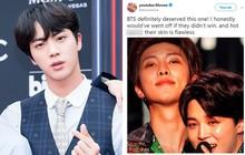 Đã nhận giải thưởng danh giá tại Billboard Music Awards, BTS còn được dân tình khen lấy khen để vì da đẹp