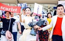 """Hoa hậu Trung Quốc cố tình ngã """"trào ngực"""" tại Cannes được chào đón không kém gì Phạm Băng Băng"""