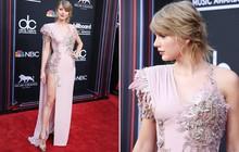 """Hai năm rồi mới trở lại thảm đỏ, Taylor Swift """"chặt đẹp"""" dàn mỹ nhân với chiếc váy mất 800 giờ hoàn thiện"""
