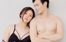 Cận ngày sinh nở, Chúng Huyền Thanh cùng ông xã Jay Quân khoe bộ ảnh bán nude nóng bỏng