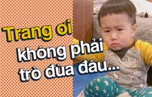 """Nhật ký sắp 2 tuổi bằng """"meme"""" đầy khí chất của Nguyễn Tùng Xoài - con trai Trang Lou và Tùng Sơn"""