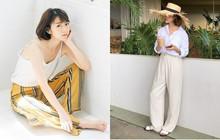 Mùa hè có nắng nóng thế nào thì 3 kiểu quần dài này cứ mặc lên người là mát
