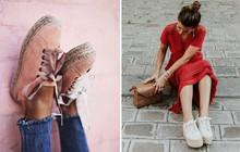 Sneaker đế cói: đôi giày xinh xắn hoàn hảo cho mùa hè vì bạn có thể kết hợp với mọi set đồ
